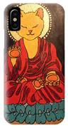 Buddha Cat Asian  IPhone Case