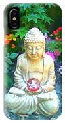 Backyard Buddha IPhone Case