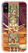 Buddha Image In Patan Durbar Square In Lalitpur-nepal   IPhone Case