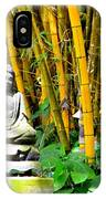 Buddha In The Bamboo Forest IPhone Case
