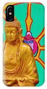 Buddha In The Grove IPhone Case