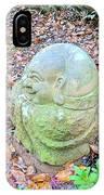 Buddha Looking Left IPhone Case