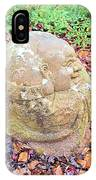 Buddha Looking Right IPhone Case