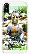 Buddha Quotes IPhone Case