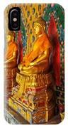 Buddhas At Wat Arun, Bangkok IPhone Case