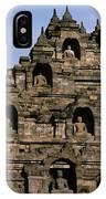 Buddhas Of Borobudur IPhone Case