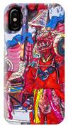 Buddhist Dancers 2 IPhone Case
