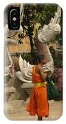 Buddhist Monk Thailand 3 IPhone Case