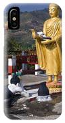 Buddhist Statues IPhone Case