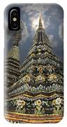 Buddhist Temple In Bangkok Thailand Buddhism Wat Po IPhone Case