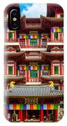 Buddhist Temple In Singapore IPhone Case
