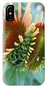 Budding Coneflower IPhone Case