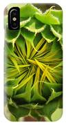 Budding Sunflower IPhone Case