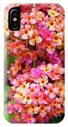 Buddleja Sp. Plant In Flower IPhone Case