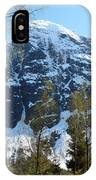 Buds And Glaciers  IPhone Case