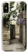 Budva Old Town Street Montenegro IPhone Case