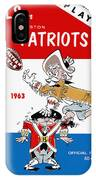 Buffalo Bills 1963 Playoff Program IPhone Case