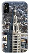 Buffalo Ny Electric Building Winter 2013 IPhone Case