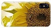 Bug In The Sunflower IPhone Case