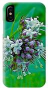 Bug On Wild Mint On Great Glacier Trail In Glacier National Park-british Columbia  IPhone Case