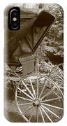 Buggy Sepia IPhone Case
