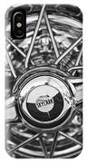 Buick Skylark Wheel Black And White IPhone Case