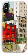 Building A City By Stan Bialick IPhone Case