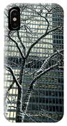 Building Reflection And Tree IPhone Case