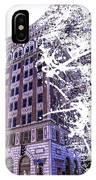 Building Splatter IPhone Case