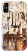 Building Trades - Hand Tools In Machine Shop IPhone Case