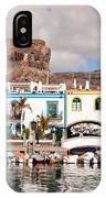 Buildings At The Waterfront, Puerto De IPhone Case