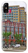 Buildings Near War Memoriall In Ottawa-on IPhone Case