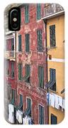 Buildings Of Vernazza IPhone Case