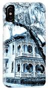 Bull Street House Savannah Ga IPhone Case