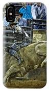 Bullriding Mania IPhone Case