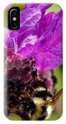 Bumble Bee Pollinating IPhone Case