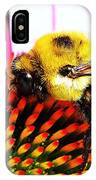 Bumblebee On Echinacea  IPhone Case