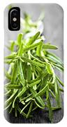 Bunch Of Fresh Rosemary IPhone Case