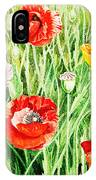Bunch Of Poppies II IPhone Case