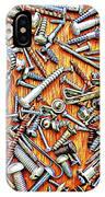 Bunch Of Screws 1- Digital Effect IPhone Case
