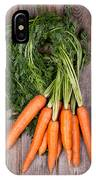 Bunched Carrots IPhone Case