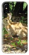 Bunny In The Wild 2 IPhone Case