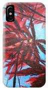 Burgundy Beauty IPhone Case