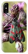 Burnett Moth IPhone Case