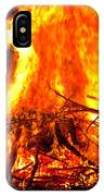 Burning Branches IPhone Case