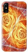 Burning Butterfly IPhone Case