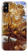 Burnside Bridge At Autumn Sunset IPhone X Case