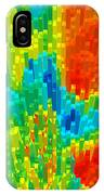 Burst Of Colors IPhone Case