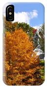 Burst Of Orange IPhone Case