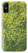 Bursting Dill Plant IPhone Case